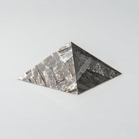 Genuine Natural Seymchan Meteorite Pyramid // 21.4 g