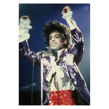 "Prince Purple Rain Tour #3 (16""W x 12""H, Edition 100)"