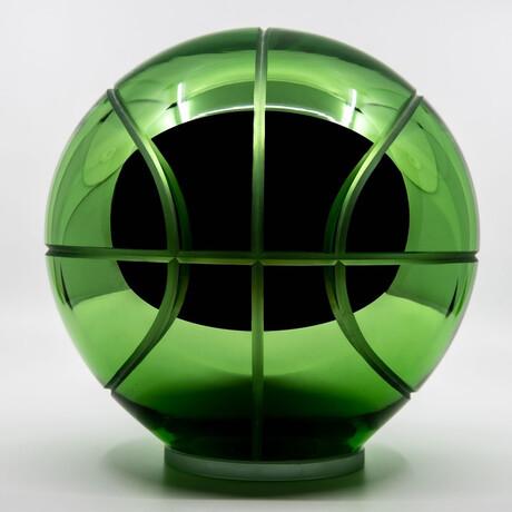 Crystal Basketball // Green