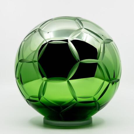 Crystal Soccer Ball // Green