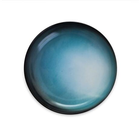 Cosmic Diner Porcelain Plate // Uranus