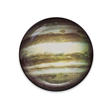Cosmic Diner Porcelain Plate // Jupiter