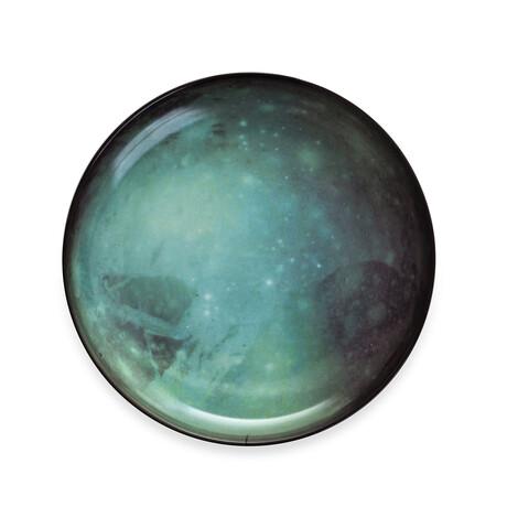 Cosmic Diner Porcelain Plate // Pluto