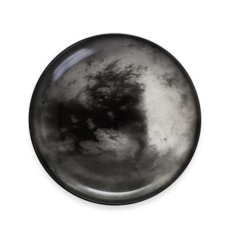 Cosmic Diner Porcelain Plate // Titan