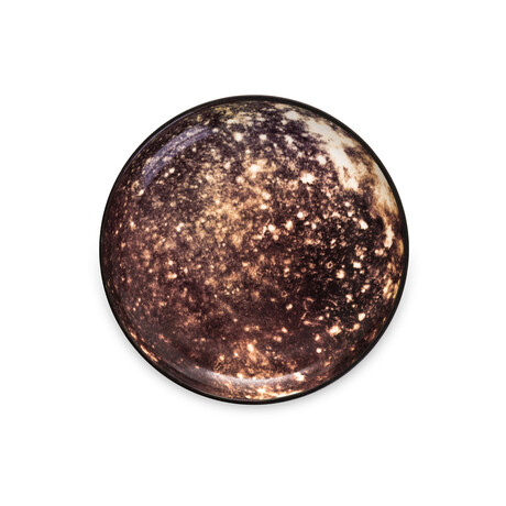 Cosmic Diner Porcelain Plate // Callisto