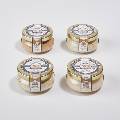 Flavor-Infused Artisan Butters // Set of 4