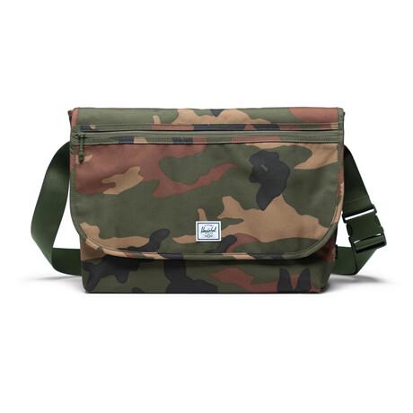Grade Messenger Bag // Woodland Camo