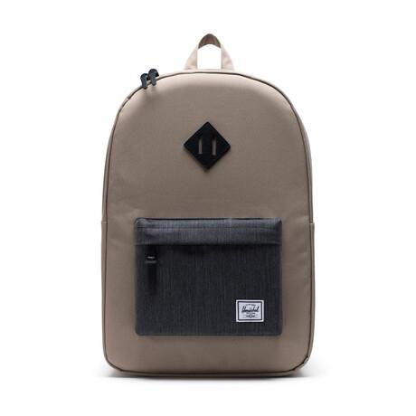 Heritage Backpack // Timberwolf + Black Denim