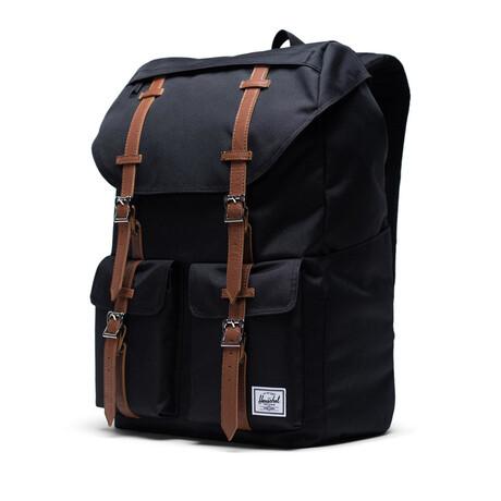 Buckingham Backpack // Black + Tan