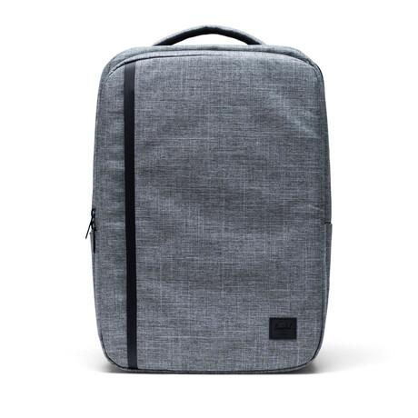 Travel Backpack // Raven Crosshatch