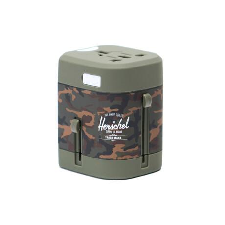 Travel Adapter // Woodland Camo