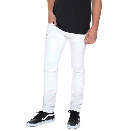 Rocker Slim Premium Stretch Jeans // White (30WX34L)