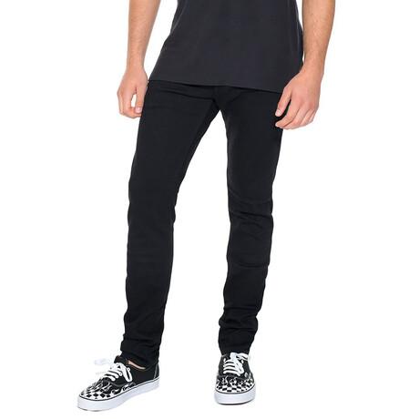 Rocker Slim Premium Stretch Jeans // Black (30WX34L)
