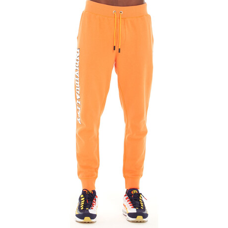 Fleece Sweatpants // Orange (XS)