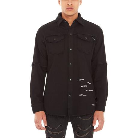 Morrison Denim Shirt // Black (XS)
