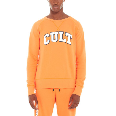 Collegiate Fleece // Orange (XS)