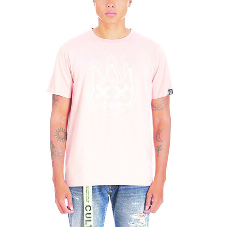 Logo Short-Sleeve Shirt // Salmon (XS)