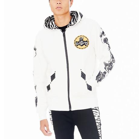 Lucky Bastard Sweatshirt // White (XS)