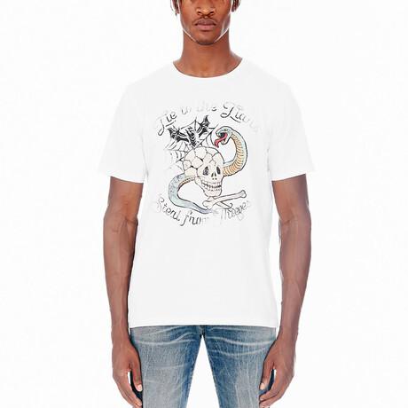 Lucky Charm Short-Sleeve Shirt // White (XS)