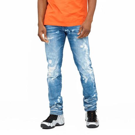 Rocker Slim Premium Stretch Jeans // Dune (30WX34L)