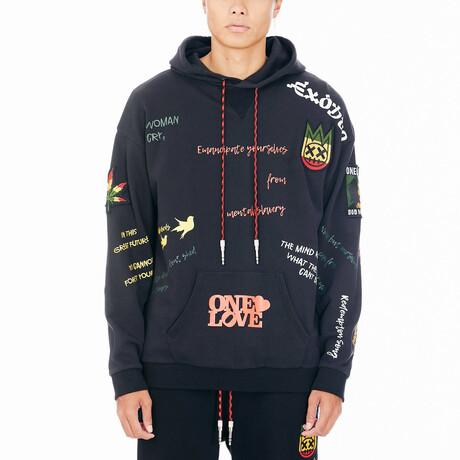 Marley Pullover Sweatshirt // Black (XS)