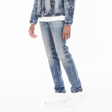 Rocker Slim Jeans // Omega (30WX34L)