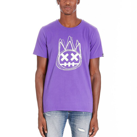 Shimuchan Logo Short-Sleeve Shirt // Royal Purple (XS)