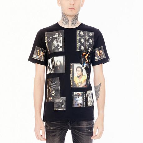 Marley Polaroid Short-Sleeve Shirt // Black (XS)