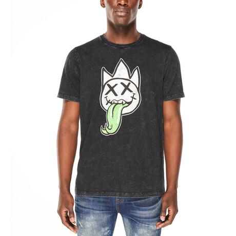 Venomous Short-Sleeve Shirt // Charcoal (XS)