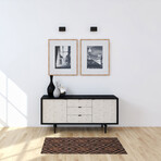 Marquetry // Maisy Floor Mat (2' x 3')