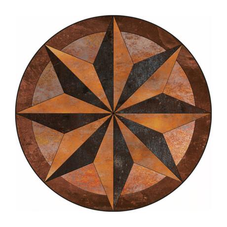 Marquetry // Elisa Floor Mat (3.25' x 3.25')