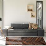 Marquetry // Bianca Floor Mat (2' x 3')