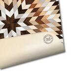 Marquetry // Diamond Star Floor Mat (3.25' x 3.25')