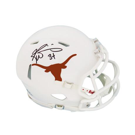 Ricky Williams // Texas Longhorns // Signed Riddell Speed Mini Helmet