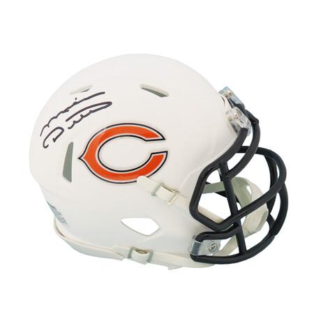 Mike Ditka // Chicago Bears // Signed Riddell Speed Mini Helmet