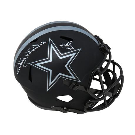 "Randy White // Dallas Cowboys // Signed Eclipse Riddell Full-Size Speed Replica Helmet // w/ ""HOF'94"" Inscription"