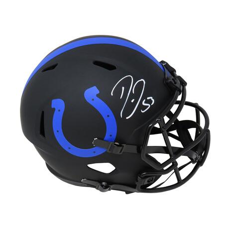 Darius Leonard // Indianapolis Colts // Signed Eclipse Riddell Speed Full Size Replica Helmet