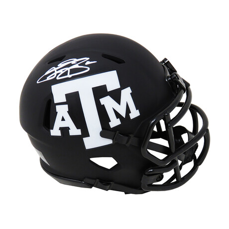 Johnny Manziel // Texas A&M // Signed Eclipse Riddell Speed Mini Helmet