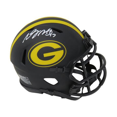 Davante Adams // Green Bay Packers // Signed Eclipse Riddell Speed Mini Helmet