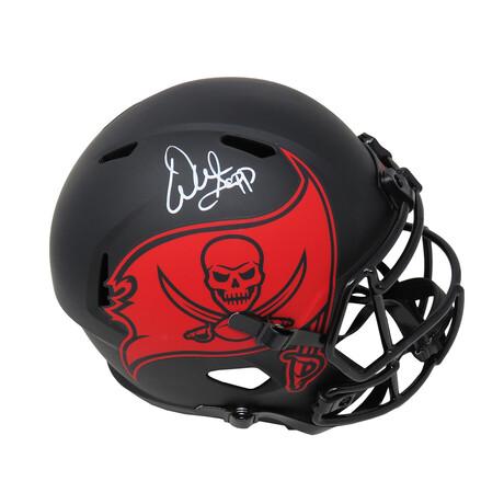 Warren Sapp // Tampa Bay Buccaneers // Signed Eclipse Riddell Speed Mini Helmet