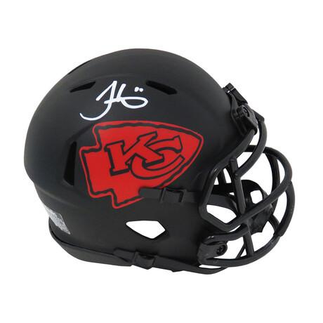 Tyreek Hill // Kansas City Chiefs // Signed Eclipse Riddell Speed Mini Helmet