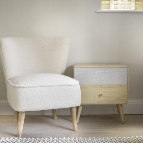 Ralph Smart Speaker Side Table // Oak
