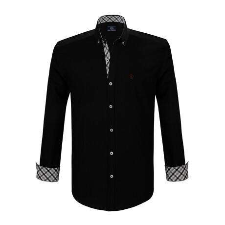 Quinn Shirt // Black (S)