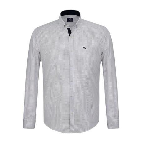 Abel Shirt // Black + White (S)
