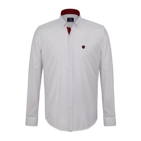 Kris Shirt // White + Red (S)