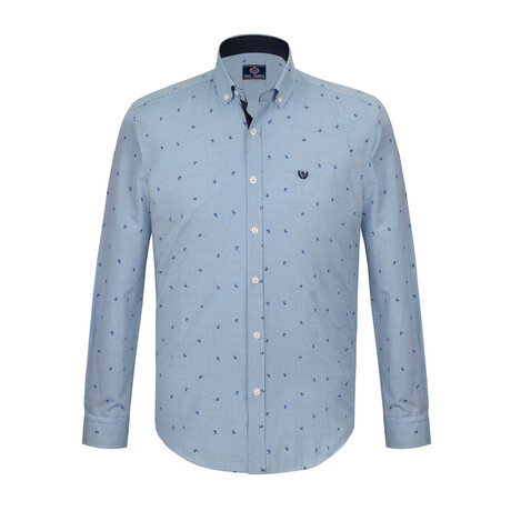 Duke Shirt // Navy Blue (S)