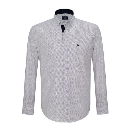 Paul Shirt // White + Navy (S)