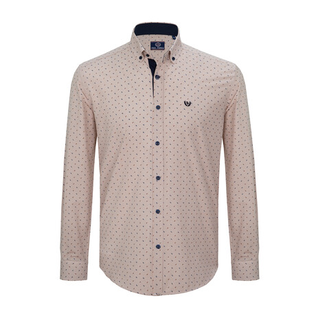 Dante Button Down Shirt // Brown (S)