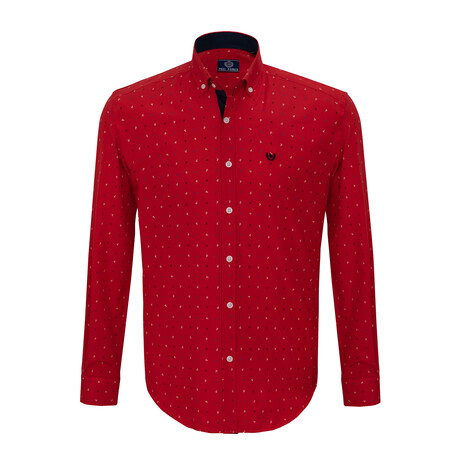 Frank Shirt // Red (S)