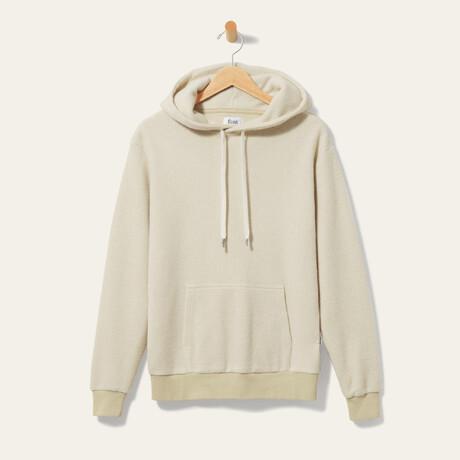 BlanketBlend Hoodie // Oatmilk (Small)